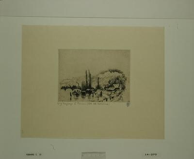 [Paysage à Rouen (Côte Sainte-Catherine), 1885]