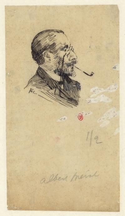 [Portrait d'Albert Mérat]