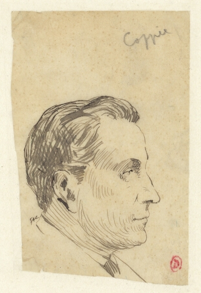 [Portrait de François Coppée]