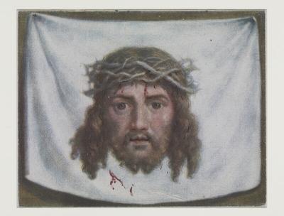[La Tête du Christ sur le voile de Véronique]; [Le Voile de Sainte Véronique avec la tête de Notre-Seigneur]