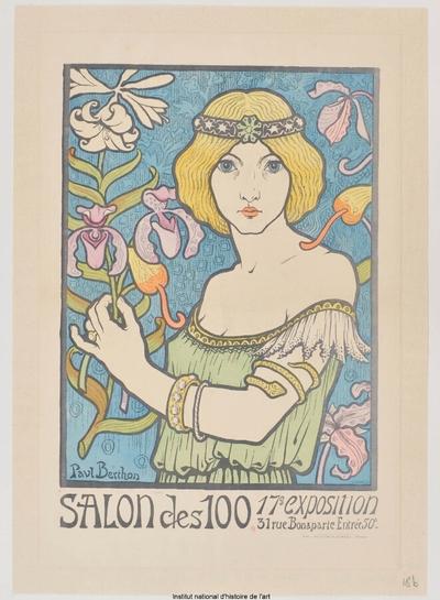 [Salon des Cent. Décembre 1895]; Salon des 100. 17ème exposition