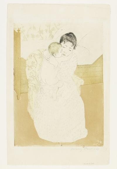 Caresse maternelle