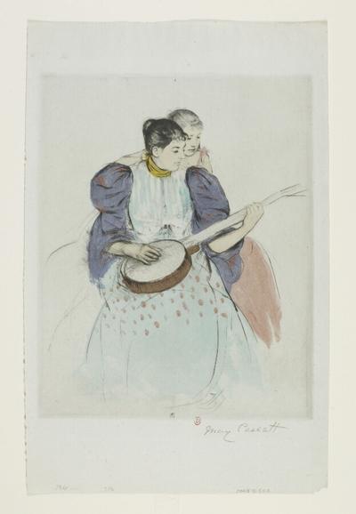 La Leçon de banjo [épreuve b]