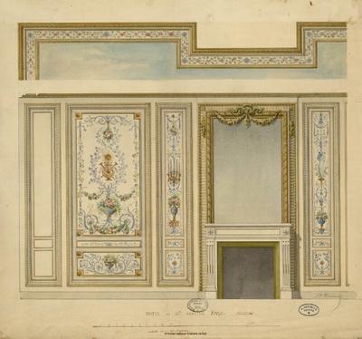 Hôtel de M. Adolphe Fould, boudoir