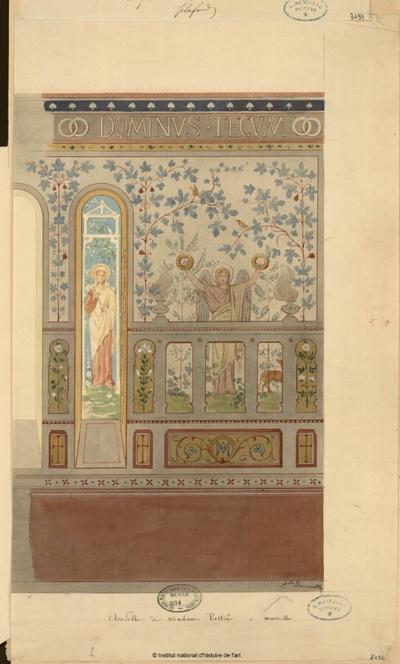 Chapelle de Madame Pastré à Marseille [élévation]