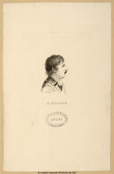 H. Redouté; H. Redouté : (portrait)