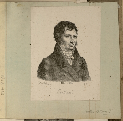 Image from object titled Caillaud; Caillaud : (portrait)
