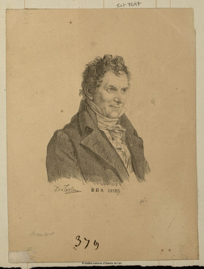 Image from object titled Chaussier; Chaussier : (portrait)