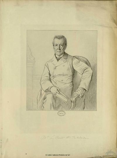 Mr. le Comte H. Delaborde; Mr. le Comte H. Delaborde : (portrait)