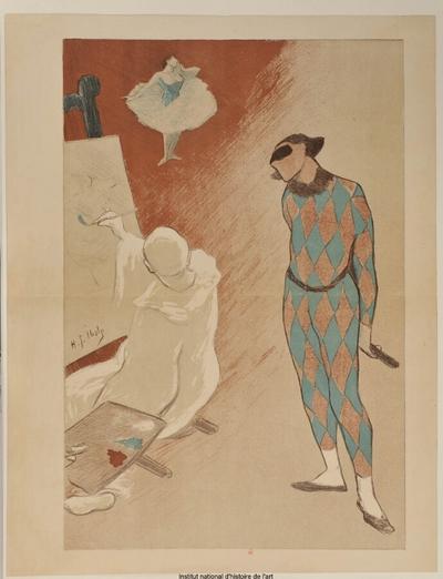 [Salon des Cent. Février 1894 (épreuve avant la lettre)]; [Salon des Cent (épreuve avant la lettre)] : [1ère exposition]
