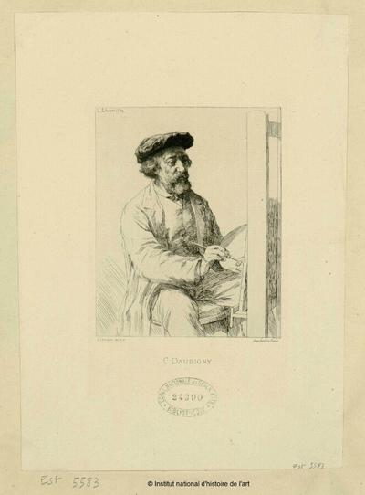 C. Daubigny; C. Daubigny : (portrait)