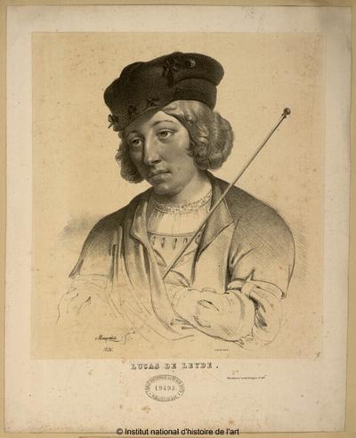 Lucas de Leyde; Lucas de Leyde : (portrait)