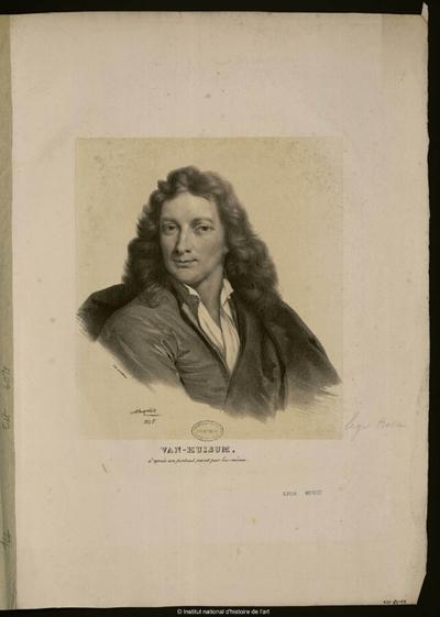 Van-Huisum, d'après son portrait peint par lui-même; Van-Huisum, d'après son portrait peint par lui-même : (portrait)