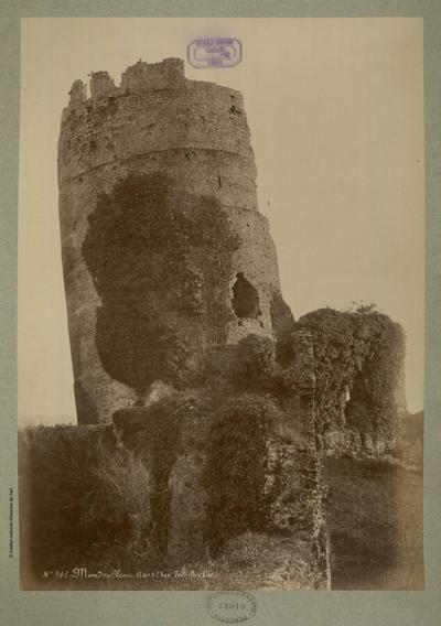 Image from object titled Mondoubleau (Loir & Cher, Tour penchée); Mondoubleau (Loir & Cher, Tour penchée) : N°986