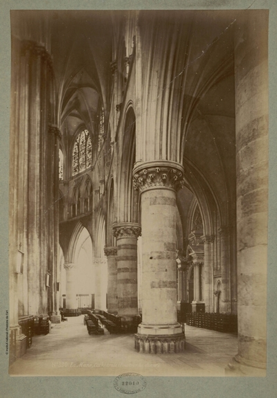Image from object titled Le Mans, Cathédrale (Pourtour du choeur); Le Mans, Cathédrale (Pourtour du choeur) : N°330