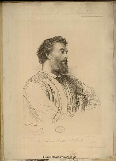Sir Frederick Leighton P. R. A.; Sir Frederick Leighton P. R. A. : (portrait)