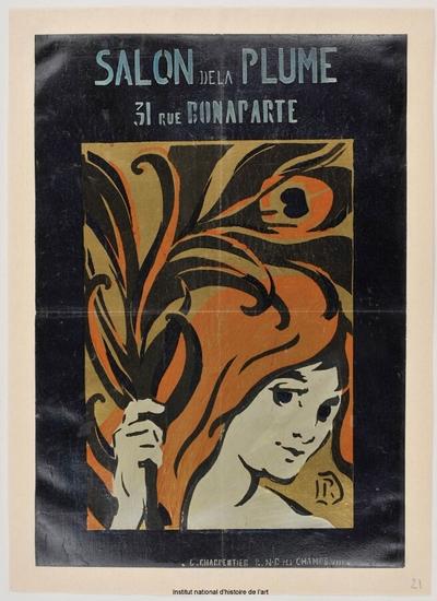 Image from object titled [Salon des Cent. Mai-juin 1896]; Salon de la Plume : [21ème exposition]