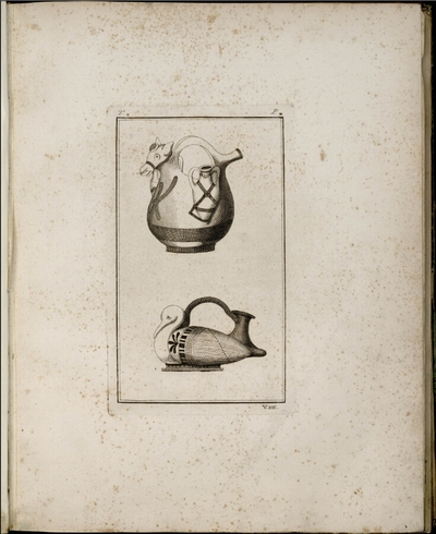 Image from object titled Collection of engravings from ancient vases. Tome 4; Collection of engravings from ancient vases, now in the possession of Sir W. Hamilton, Naples 1791-1795 : Tome 4