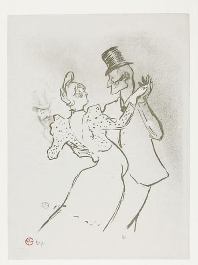 Image from object titled La Goulue et Valentin