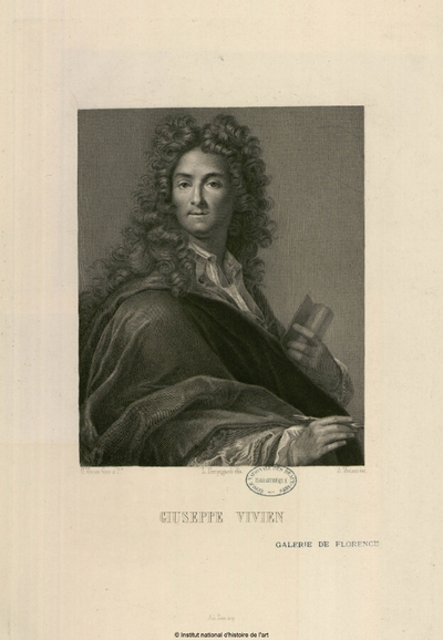 Giuseppe Vivien (Galerie de Florence); Giuseppe Vivien (Galerie de Florence) : (portrait)