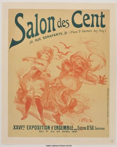 [Salon des Cent. Avril 1897]; Salon des Cent. XXVIème exposition d'ensemble du 1er au 20 avril 1897