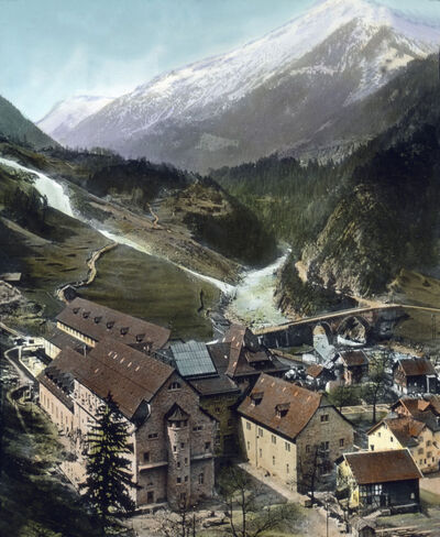 Image from object titled Gotthard Simplon Bahn