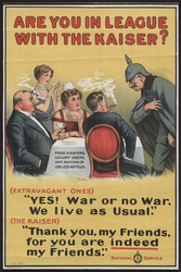 Are you in league with the kaiser ? - Europeana Collections