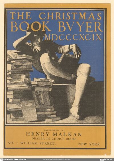 The Christmas Book Buyer 1899