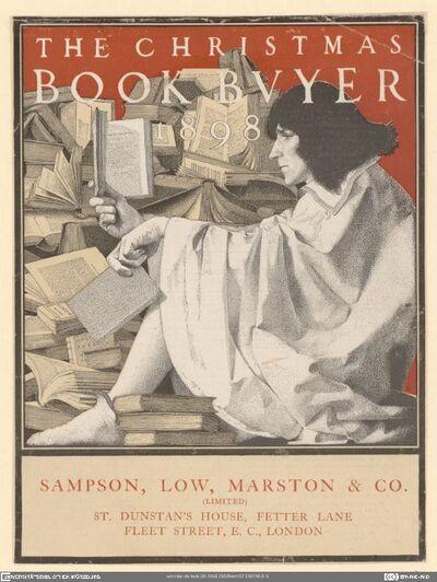 The Christmas Book Buyer 1898
