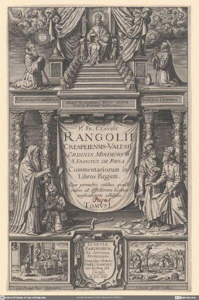 P. Fr. Clavdii Rangolii Crespeiensis-Valesii ... Commentariorum ...