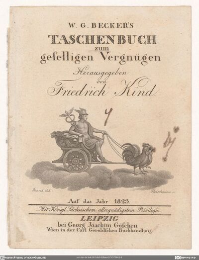 W. G. Becker's Taschenbuch zum geselligen Vergnügen. Auf das Jahr 1823