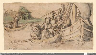 Der Seeräuber Paganino von Monaco raubt Bartholomea