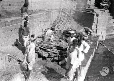Benares Catasta per la cremazione