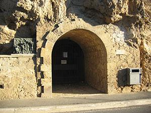 Entrance of the Mining Museum, Massa Marittima.