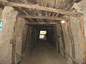 Tunnel of the Mining Museum, Massa Marittima.