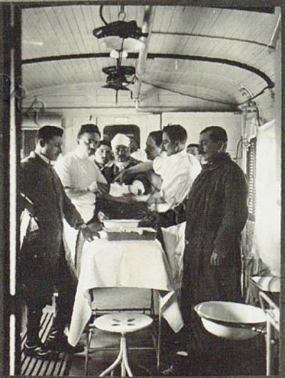 Image from object titled Negative dell'Intendenza Generale. Treno ospedale