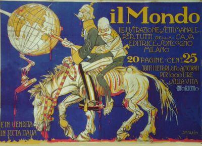 Il Mondo  : illustrazione settimanale per tutti della casa editrice Sonzogno, Milano  / Bonzagni