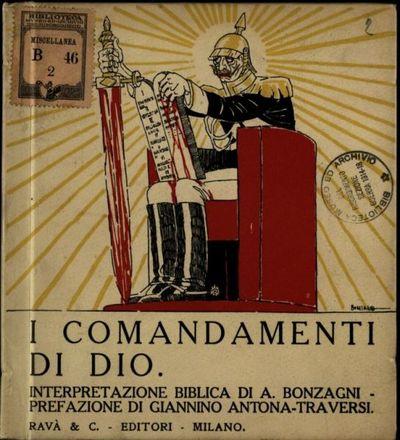 I comandamenti di Dio  : interpretazione biblica  / di Aroldo Bonzagni  ; prefazione di Giannino Antona-Traversi