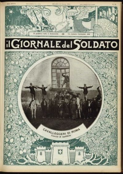 Image from object titled Il giornale del soldato