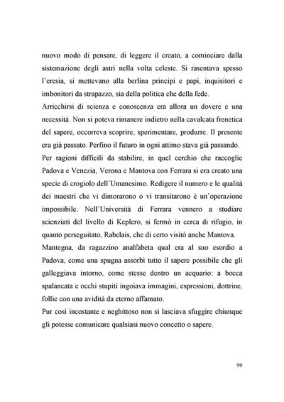 """Testi Mantegna: """"Il trionfo e lo sghignazzo"""" - 2006 <br>Lezione spettacolo di e con Dario Fo"""