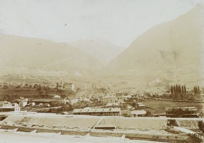 Image from object titled Panorama di Briga