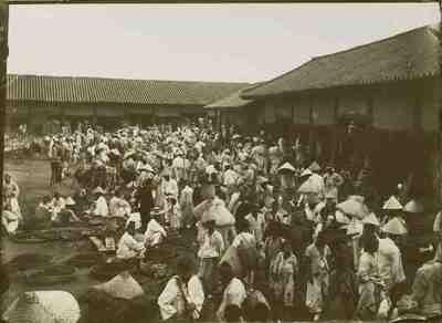 Image from object titled Seul. Mercato dei grani