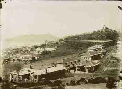 La concessione internazionale di Cemulpo (vista da sud)