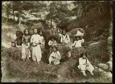 Piccoli contadini coreani