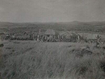 La carovana del Campo Rweya
