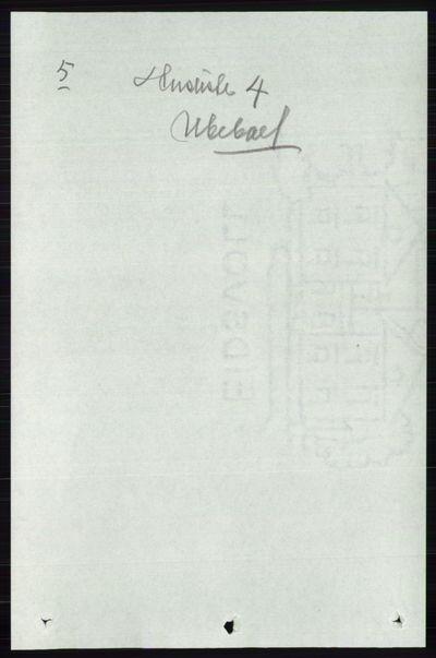 Image from object titled Folketelling 1891 - Østre Gausdal - personsedler - side 3005