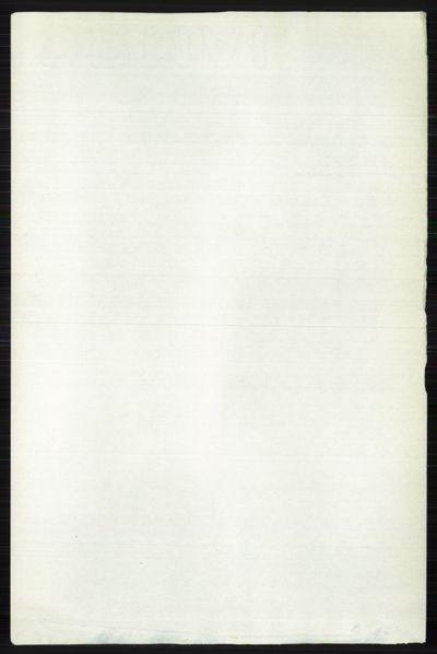 Image from object titled Folketelling 1891 - Vestre Slidre - personsedler - side 643