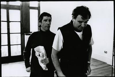 Rehearsal photograph featuring Gary Whelan 2