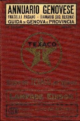Image from object titled Annuario genovese : guida di Genova e provincia