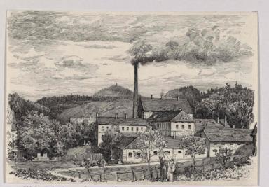 Tschinkels Fabrik in Schönfeld